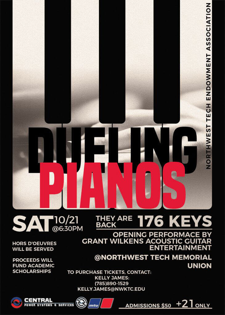 Dueling Pianos Poster