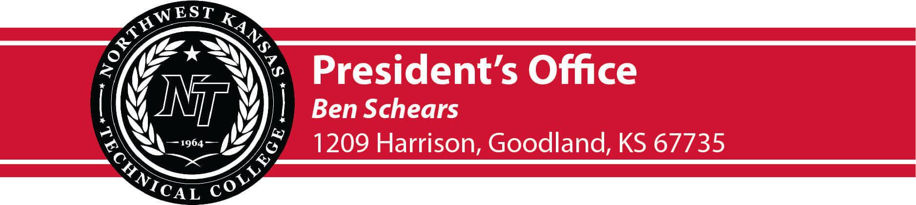 president's letterhead image