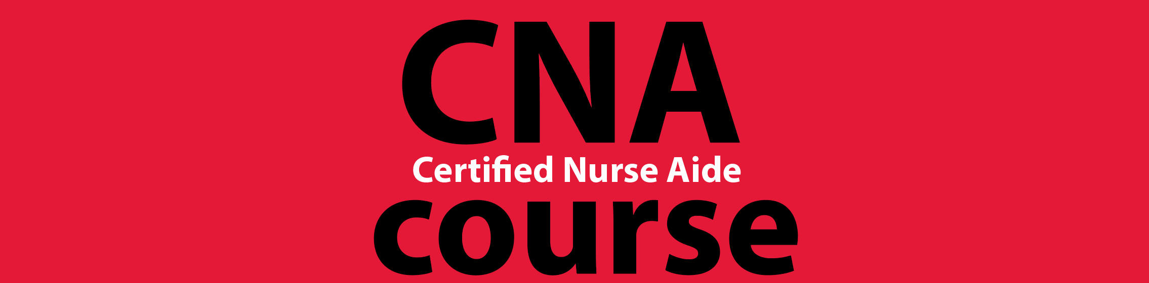 certified nurse aide course