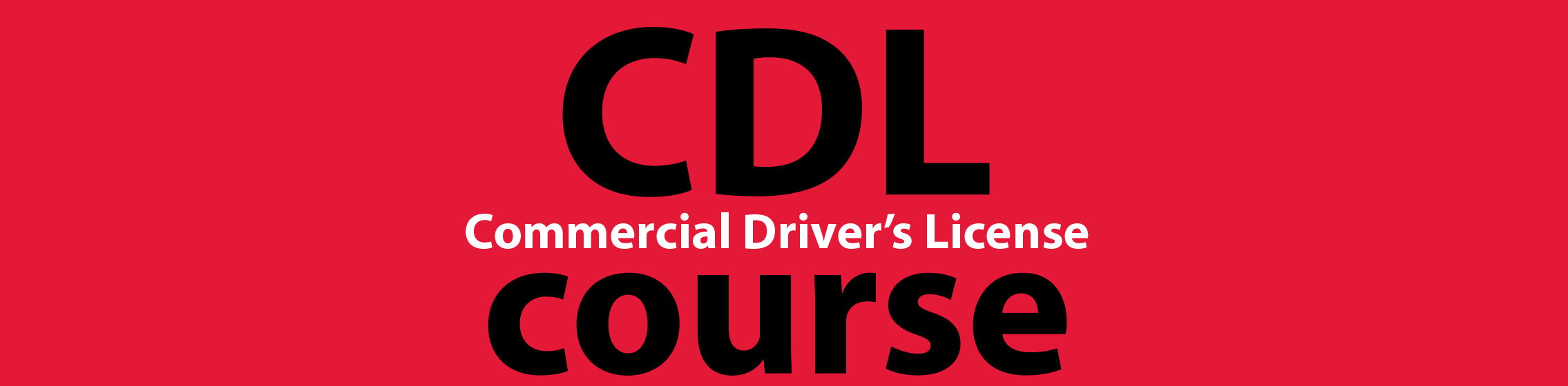 commercial drivers license course