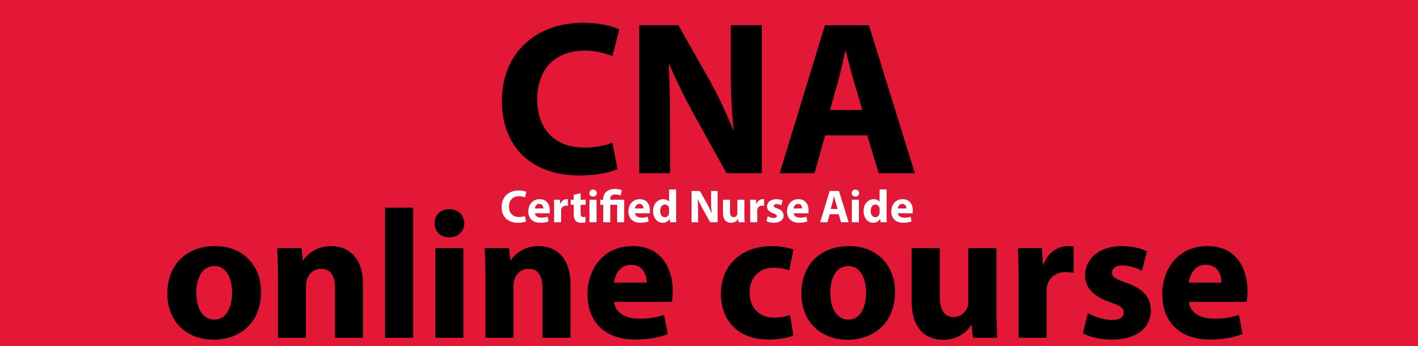 certified nurse aide course
